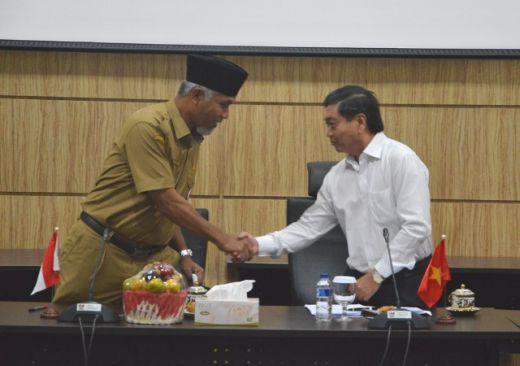 Kerjasama Sister City, Pemeritahan Ba Ria Vung Tau Vietnam Datangi Kota Padang