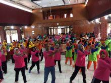 Jaga Kabugaran di Usia Senja, Padang Pariaman Gelar Lomba Senam Lansia Antar Kecamatan